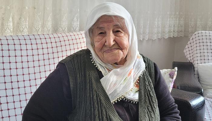 """106 yaşında koronavirüsü yendi, """"Sağlığımı aşıya borçluyum"""" dedi"""