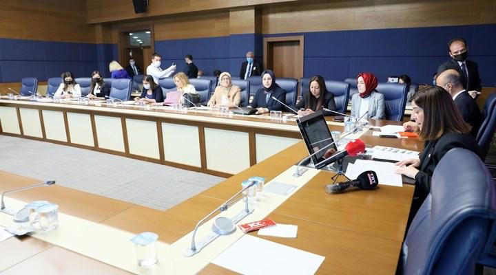 Meclis komisyonunda skandal ifadeler: Kadın vekillere 'car car konuşuyorsunuz ' denildi, 6284 'ün kaldırılabileceği söylendi!